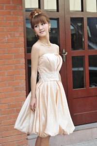 '.Вечернее платье абрикосовое (размер L) .'
