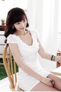 '.Платье белое .'