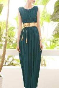 '.Платье зеленое .'