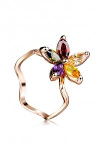 '.Кольцо Аленький цветочек .'