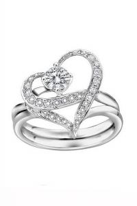 '.Кольцо Разбитое сердце .'