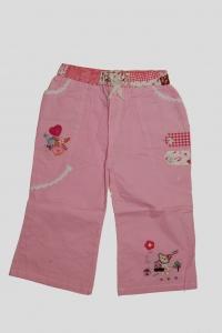 '.Брючки для девочки розовые с мишкой (4 года) .'