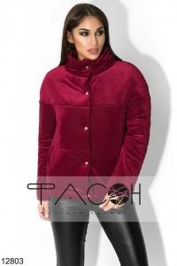 '.Оригинальная велюровая курточка .'