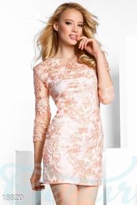 '.Платье с вышивкой .'
